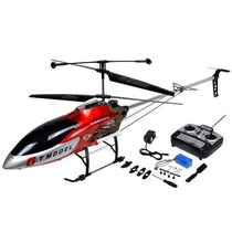 Helicoptero Gt Model,qs8006 3.5ch C/ Leds Gigante 134 Cm