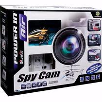 Helicóptero Controle Remoto Spycam Ii Com Câmera Para Filmar