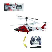 Mini Helicóptero Controle Remoto Falcão 3 Canais Gyro Giro
