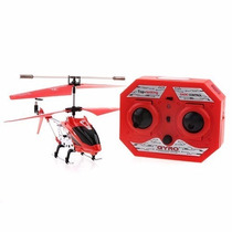 Mini Helicóptero 3,5 Ch Com Gyro, Vôos Internos