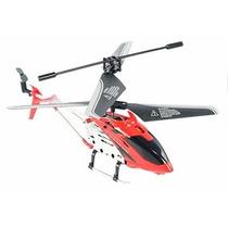 Helicóptero 3,5 Canais Com Controle Remoto Vermelho