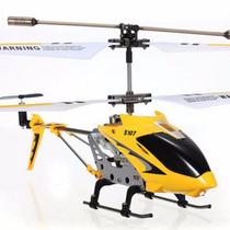 Mini Helicóptero Syma 3 Canais S107g Controle Remoto