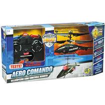 Frete Grátis! Helicóptero Aero Comando Controle Remoto - Dtc