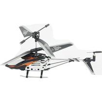 Mini Helicóptero 3,5 Canais Com Controle Remoto - Vermelho