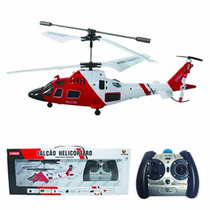 Mini Helicoptero Controle Remoto Falcão 3 Canais Com Gyro