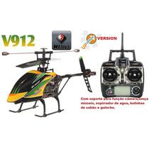 Helicóptero De Controle Wltoys V912 4ch Com Suporte P/câmera