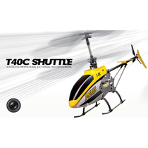 Helicóptero De Controle Remoto Com Câmera - T40c - 3 Canais