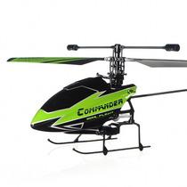 Helicóptero V911 Controle Remoto 4 Canais Clone T-rex 100