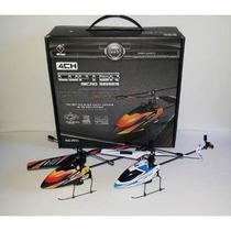 2 Mini Helicóptero V911 Completo Com Gyro Rtf 2,4ghz P Entre