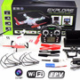 Drone V686g V686 Wltoys Câmera + Tela Fpv Completo + Brinde