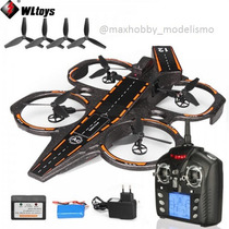 Drone Lancha Wltoys Q202 2.4g 4ch 6 Axis Com Led