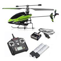 Mini Helicóptero V911 Controle Remoto Wi V911 4ch 2.4ghz