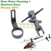 Topo Rotor Principal (main Rotor + Washout Base) Wltoys V911