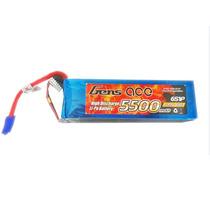 Bateria Lipo 6s 22.2v 5500mah 60c Gens Ace Plug Ec5