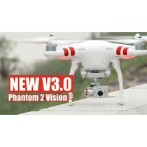 Drone Dji Phantom 2 Vision+ 1080p V3 C/ Zenmuse Lipo 5200mah