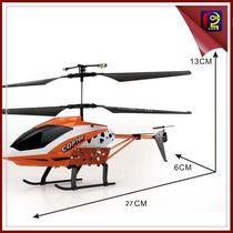 Helicóptero 3.5 Canais Luz Led - Hélices Reserva De Brinde