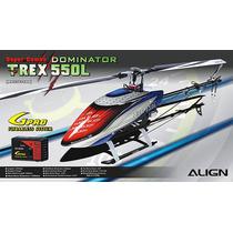 Align T-rex 550l Dominator Super Combo Rh55e09xw Apronta Ent