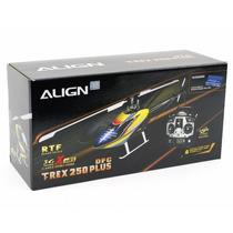 T-rex 250 Plus Dfc Rtf Rh25e04xw Align Completo Radio Lipo