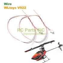 2 X Fio Motor De Cauda (wire) Para Helicóptero Wltoys V922