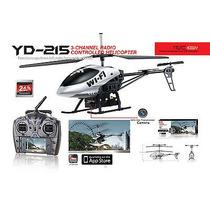 Helicóptero Yd-215 Attop Wifi Para Iphone (imagem Ao Vivo)