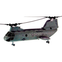 Helicóptero Boeing Ch-46 Knight Marines New Ray 1:55-1586-3