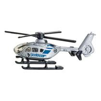 Toy Helicóptero Da Polícia - Siku Replica Modelo Em Miniat