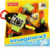Imaginext Super Aviões Sky Racer - T5120 Mattel