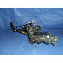 Peça Sucata Do Helicóptero Trovão Azul Da Glasslite Anos 80