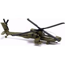 Miniatura Em Metal Ah-64 Apache Tailwinds Maisto Com Pé