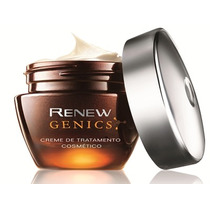 Renew Genics Creme Noite Lançamento Avon Anti-idade