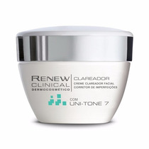 Oferta! Lançamento Renew Clinical Creme Clareador Uni-tone7