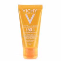 Protetor Solar Vichy Capital Soleil Toque Seco C/ Cor Fps 50