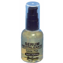 5 Frascos Serum Revit. Facial Com Caviar Tensine, Raffermine