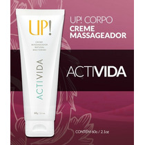 Creme Massageador Activida Up Essencia Anti-estresse Unissex
