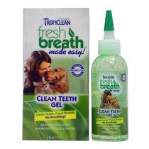 Tropiclean Breath Gel 118ml Remoção Anti Tártaro Cães- Gatos