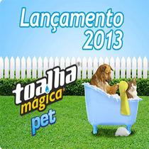 Toalha Mágica Pet Especial P/ Secar Pêlos De Caes E Gatos