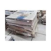 Jornal Velho Pacote Com 10 Kilos