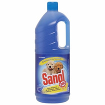 Desinfetante Cachorro Eliminador De Odores Sanol 2l #tcmv
