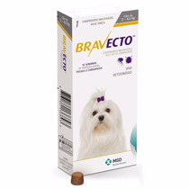 Bravecto Antipulgas E Carrapatos Para Caes De 2 A 4,5kg