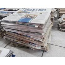 Jornal Usado Limpo Pet Clinica Vet -folha Grande - 5 Kilos