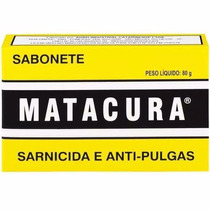 5 Unidades De Sabonete Matacura Sarnicida Anti Pulgas 80g