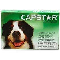 Capstar Contra Pulgas/bicheiras Cães Acima De 11kgs 1 Comp