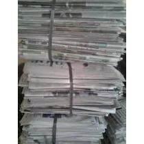 Jornal Velho/usado/para Reuso Fardo 10kg Limpo