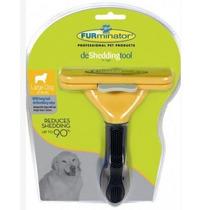 Escova Furminator Para Cães De Grande Porte Com Pêlos Longos