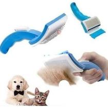 Rasqueadeira Cerdas Aço Cães Cachorro Gato - Petzoom