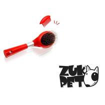 Escova Rasqueadeira E Pente Silver Plástico Cães Gatos