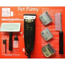 Máquina De Tosar Animais Pet Funny 110v