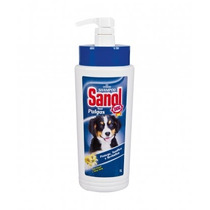 Shampoo Sanol Anti Pulgas 1 Litro Pet, Cães, Dog, Cachorro