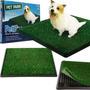 Sanitario Canino Pet Park Imita Grama Super Higienico