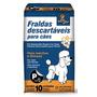 Fralda Descartavel Caes Machos Ou Femeas P Até 3,5kg 10 Un.